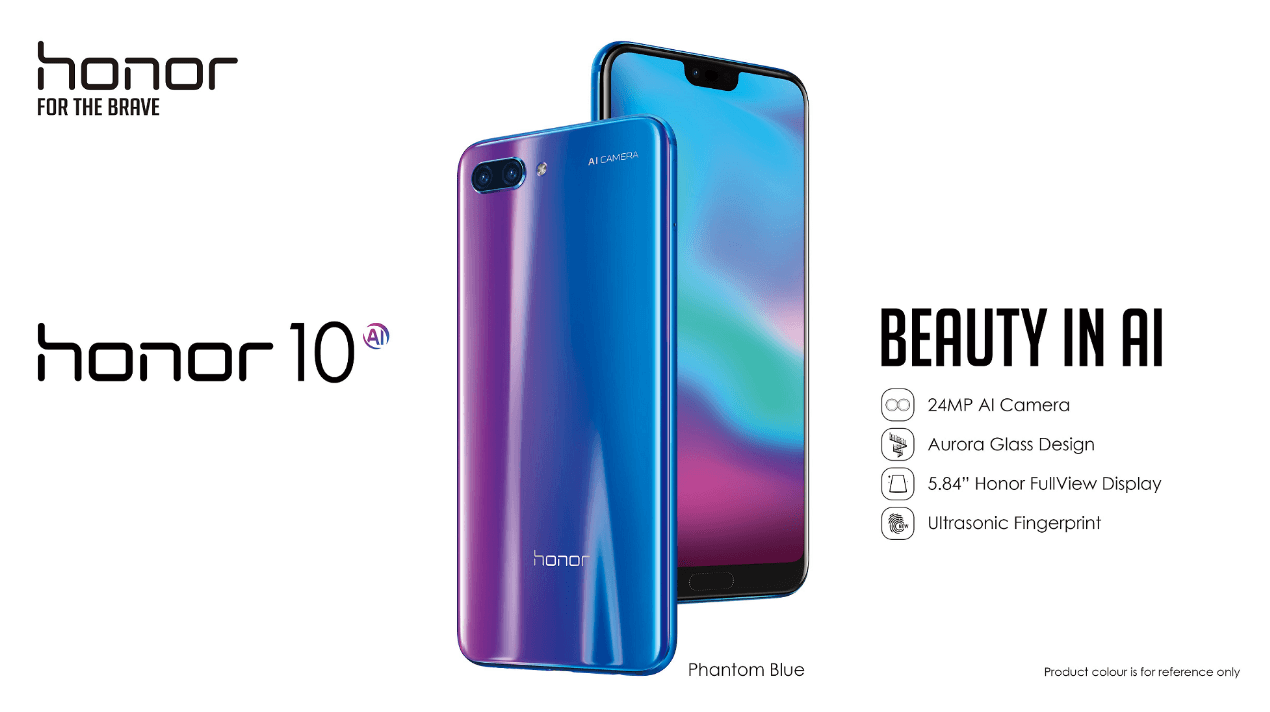 So sánh Honor 10 với Honor 9